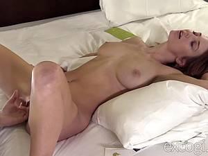 Hot Ashlynne gets fucked hard