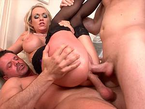 Paige Ashley loves getting double penetrated