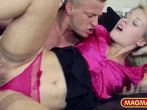 Sweet Cat loves her husbands big dick fucking her hard